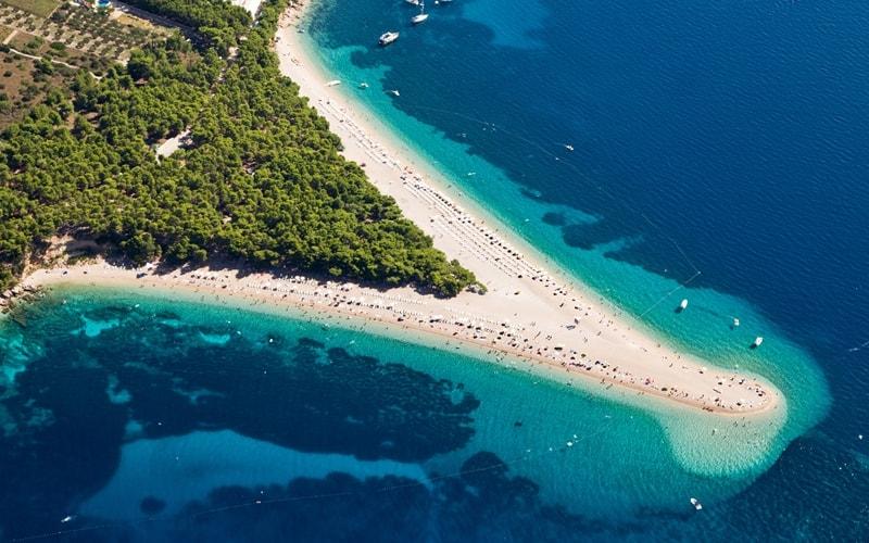 Spiagge della Croazia: 10 spiagge di sabbia mozzafiato sul mare Adriatico (con mappa)